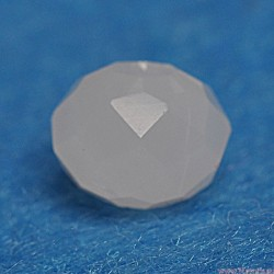 Koraliki Rondelle kryształowe fasetowane  6 szt 6x8 ZIELONE MAT