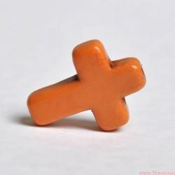 Krzyżyk 16x12 mm Pomarańczowy