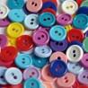Guziki kolorowe - 60 szt. - mix kolorów NAJTANIEJ