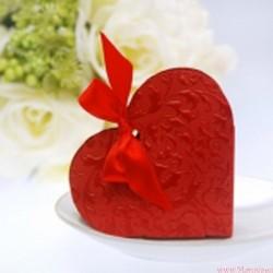 Pudełeczko serce z kokardką