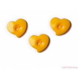 Guziki serca krzywe
