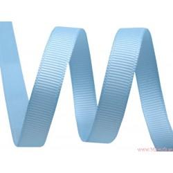 Wstążka rypsowa 9 mm błękitna