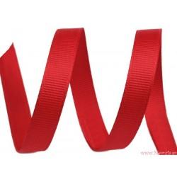 Wstążka rypsowa 9 mm czerwona