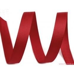 Wstążka rypsowa 10 mm czerwona