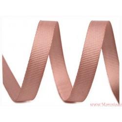 Wstążka rypsowa 10 mm bordowa