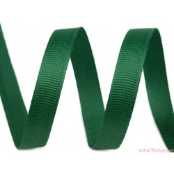 Wstążka rypsowa 10 mm fiolet zielona jasna