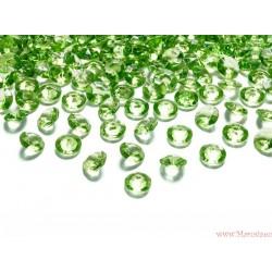 Diamentowe konfetti przeźroczyste