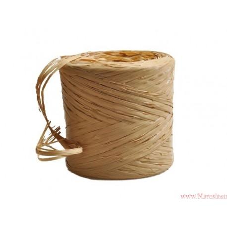 Rafia sznurek wstążka AŻ 5 NATURALNA (R2)
