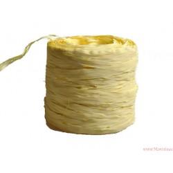Rafia sznurek wstążka AŻ 5 METRÓW KREMOWA (R7)