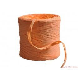 Rafia sznurek wstążka AŻ 5 METRÓW Pomarańczo (R15)