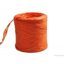 Rafia sznurek wstążka AŻ 5 METRÓW POMARAŃCZOWA(R8)