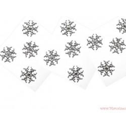 Boże Narodzenie  gwiazdki śnieżynki  8 szt
