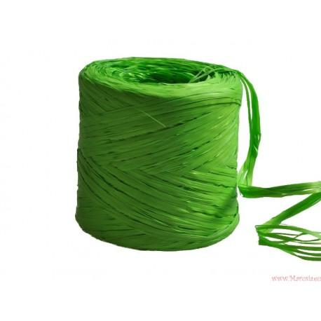 Rafia sznurek wstążka AŻ 5 METRÓW ZIELONA (R5)