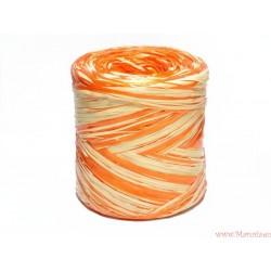 Rafia dwukolorowa 5m żółty i pomarańczowy