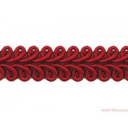 Taśma ozdobna dekoracyjna obszywka czerwona
