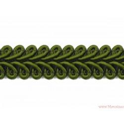 Taśma ozdobna dekoracyjna obszywka oliwka