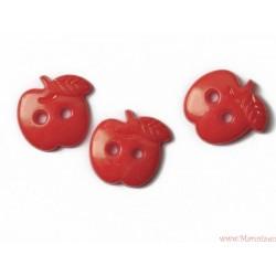 Guziki jabłka