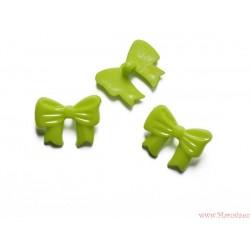 Guziki kokardki zielone