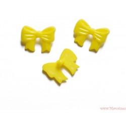 Guziki kokardki żółte