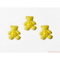 Guziczki guziki misie żółte jasne