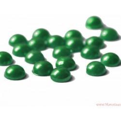 Półperły ozdobne 4mm 50szt. zielone jasne