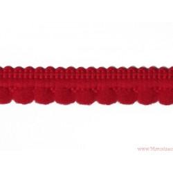 Taśma z wypustkami 9mm czerwona