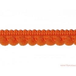 Taśma z wypustkami 9mm pomarańczowa