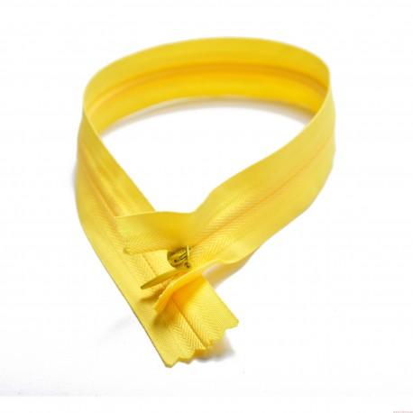 Zamek nierozdzielczy 35cm spirala 3mm żółty