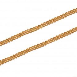 Taśma metalizowana 8mm złota