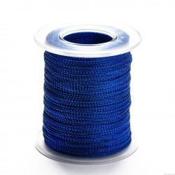 Sznurek ozdobny szerokość 1mm 100m niebieski
