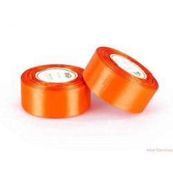 Tasiemka wstążka satynowa 38mm pomarańczowy