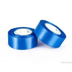 Tasiemka wstążka satynowa 38mm niebieski