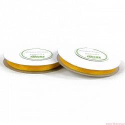 Wstążka szyfonowa 6mm rolka żółty 32m