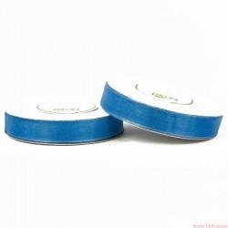 Wstążka szyfonowa 12mm rolka niebieski 32m