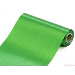 Satyna gładka 16cm zielony
