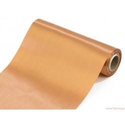 Satyna gładka 16cm brązowy