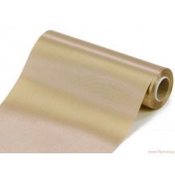 Satyna gładka 16cm ciemny złoty
