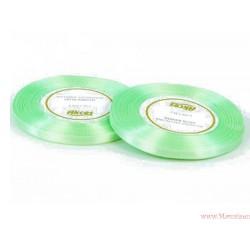 Tasiemka wstążka satynowa 6mm morski zielony