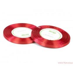 Tasiemka wstążka satynowa 6mm czerwony