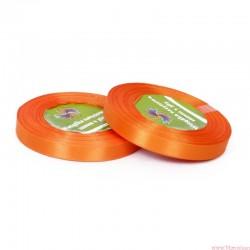 Tasiemka wstążka satynowa 12mm 32m pomarańczowy