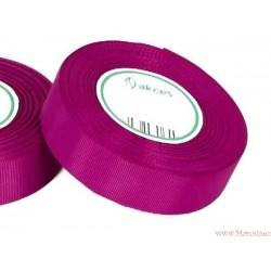 Wstążka rypsowa 25mm rolka 22m purpurowa