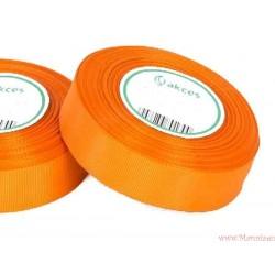 Wstążka rypsowa 25mm rolka 22m pomarańczowa