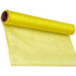 Organza obszywana 40 cm limonka