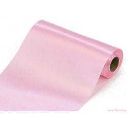 Satyna gładka 16cm różowa