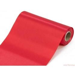 Satyna gładka 16cm czerwony