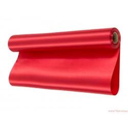 Satyna gładka 36cm czerwona