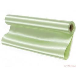 Satyna gładka 36cm jasny zielony