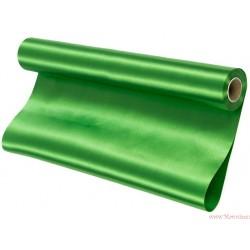 Satyna gładka 36cm zielony