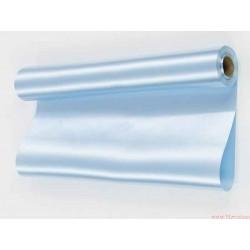 Satyna gładka 36cm błękitna
