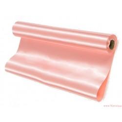 Satyna gładka 36cm różowy jasny